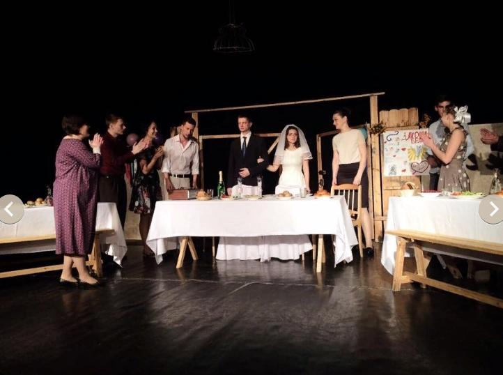 Премьера учебного спектакля «В день свадьбы», В. Розов