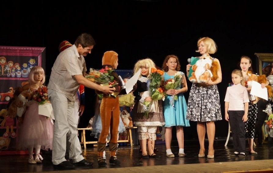 Детская театральная студия: отчетный спектакль
